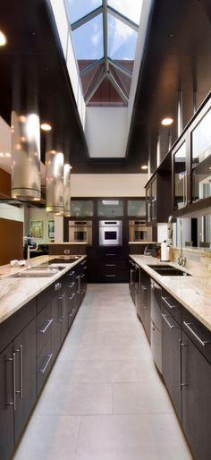 Modern Kitchen - http://www.houzz.com/photos/1771512/Somrak-Kitchens-modern-kitchen-cleveland   #VT Industries #countertop