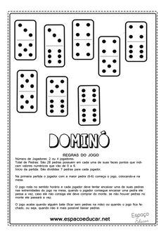 Que tal imprimir e brincar? As regras do jogo encontram-se na segunda página. Você pode imprimir em cartolina o...