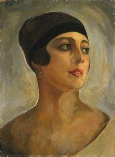 Вера Стравинская (Судейкина, Боссе) (ок. 1920г.) художник Судейкин Сергей Юрьевич.(1882-1946) (одна из жён)