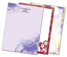 Download this Circles and Orbs Letterheads and other free printables from MyScrapNook.com