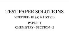 ALLEN Plus Paper Board, Chemistry, Physics, Math Equations, Physique