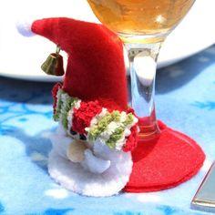 Vintage Coasters Placemat Craft Wedding Christmas Table Decoration Santa Claus Cup Pad Placemats Party decoration L45 #Affiliate