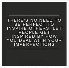 Perfect within imperfection