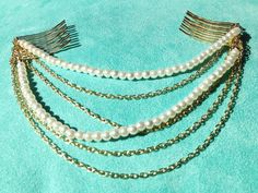 Need pins to put in hair Head Jewelry, Copper Jewelry, Body Jewelry, Jewellery, Headband Hairstyles, Diy Hairstyles, Pretty Hairstyles, Boho Headband, Chain Headband