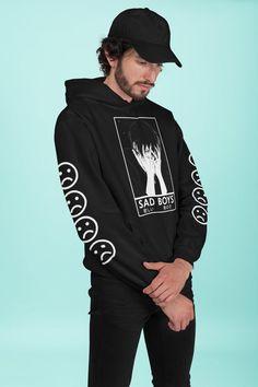 Japanese Hoodie, Aesthetic Hoodie, Hooded Sweatshirts, Hoodies, Anime Gifts, Adidas Jacket, Street Wear, Circle Necklace, Unisex