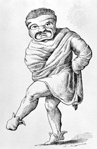 roman comedy stock characters | The Greeks and Romans - History of Theatre Acting