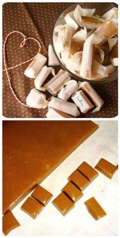 Handmade caramels  by bu&bau :)