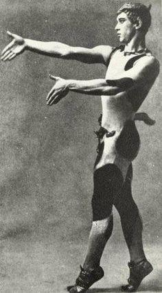 kiev 12-3-1890 london 8-4-1950 L'Après-midi d'un faune. Vaslaw Nijinsky