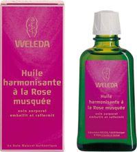Weleda: Huile harmonisante à la Rose musquée #massage #rose #weleda #huile #relaxer