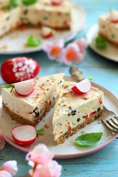 Juditka konyhája: ~ SÓS SAJTTORTA ~ Feta, Panna Cotta, Paleo, Dairy, Pudding, Bread, Cheese, Snacks, Baking