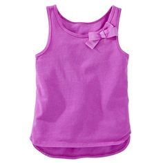 $10.00 Neon Bow Tank, Purple