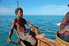 Ninigo atoll, Papua New Guinea: sailing a dugout outrigger in one of our most memorable PNG stops.