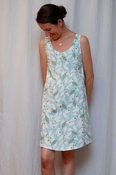 It's Pajama (Pyjama) Time!! // CUT CUT SEW  maybe a cute summer dress