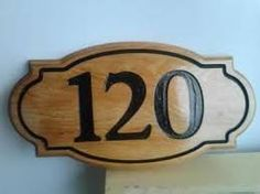 Resultado de imagen para letreros de madera