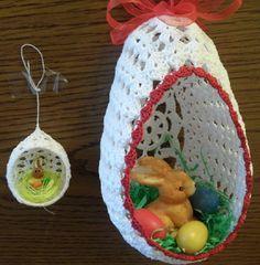 Ostern - Häkelhaus Farberge eier Häkeleier