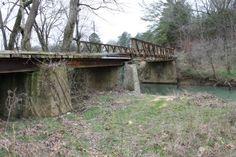 Old bridge in Dekalb County Alabama.