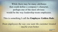 customer service and leadership