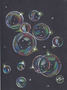 Are not we all like soap bubbles? Some big some small, all made of the same matter, all shine in same yet different ways, all take their own random direction that cannot be exactly predicted and in the end, sooner or later, all are destined to vanish. FC Polychromos on 200 gsm black art card paper.  #randomart #colorpencil #fabercastell #artistsofinstagram #artwork #sketch #drawing #colorsketch #polychromos 3blackpaper #black #bubbles #life #philosophy #death #light #shine