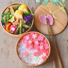 The Kimono Gallery Cute Food, Yummy Food, Kawaii Bento, Japanese Snacks, Japanese Food Art, Bento Recipes, Food Decoration, Food Trends, Aesthetic Food