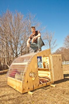 A COUPLE OF OUR MINI CABINS will be for on display, AND for sale- in Baltimore.....   @THIS weekend's the Transmodern/Camp-Camp Festival in ...