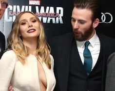 If Elizabeth Olsen's succulent tits can defeat Captain America, WHAT CHANCE DO THE REST OF US HAVE??? ❤❤❤