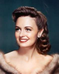 Donna Reed.  I love the glamour of old Hollywood.