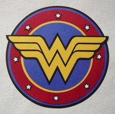 Wonder Woman Logo Template | Wonder Woman Paper Logo Template & InstructionsSo, a while ago I did a ...