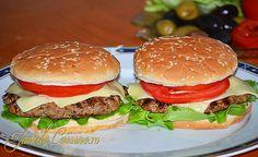 Hamburger - reteta video