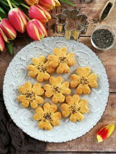 Chiamagos szerencsekeksz recept - Kifőztük, online gasztromagazin Bruschetta, Bagel, Pineapple, Cookies, Fruit, Pizza, Foods, Crack Crackers, Food Food