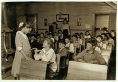 Touching Photos of Teachers at Work, 1915 - Old Photo Archive - Vintage Photos and Historical Photos