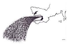 """Adriana Mosquera """"Nani"""", Diana Raznovich, Jorge Martínez """"Lloy"""" y Vanesa Bertolini muestran con sus obras y a través del humor como arma arrojadiza contra la injusticia como el racismo, las diferencias de género y las de las clases sociales"""