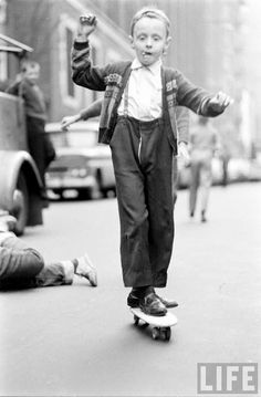 Skateboarding, New York, 1960s