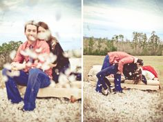Love this adorable Pillow Fight Engagement session by The Bird & The Bear!