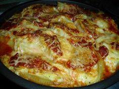 Veggie Pasta Shells (Oamc)