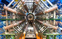 Higgs Boson  Images of the incredible Large Hadron Collider the world's largest and highest energy particle accelerator. This 7.5 billion euro machine has revealed the Higgs Boson, the elementary subatomic particle.