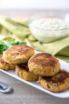 These perfect fish cakes are crispy on the outside and soft inside. Cooked to golden brown and pair wonderfully with the jalapeno remoulade. #VivaLaMorena #ad via @NeliHoward