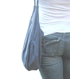 Slouch Bag Hobo Purse Cross Body Hip Bag by SmiLeaGainCreations, $32.00