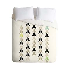 A very tasteful and modern pattern that should suit a range of decor - Norse Direction Duvet Cover #bedding #spon