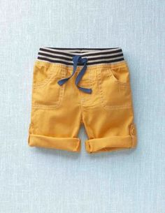 Roll-Up Trousers by Mini Boden - Little Man lived in these last summer! by Gloria Jean Toddler Boy Fashion, Little Boy Fashion, Toddler Outfits, Baby Boy Outfits, Toddler Boys, Kids Boys, Kids Outfits, Fashion Kids, Little Man Style