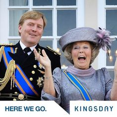 Don't call me Majesty - future Dutch King