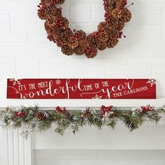 Christmas Quotes Wooden Sign #christmas #signs #ad