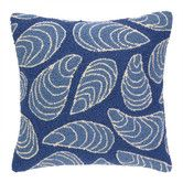 Found it at Wayfair - Mussels Hooked Wool Throw Pillow