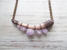 Real Deer Antler Necklace A Game of Thrones Jewelry Khaleesi Wire Wrapped Necklace Rustic Jewelry DanielleRoseBean Antler Bib Necklace on Etsy, $100.00 CAD