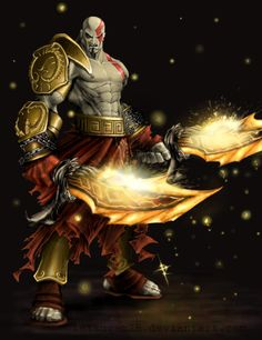 God of War - Kratos; swords are a means to an end for him. A very BLOODY end!