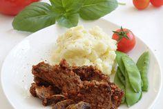 Μοσχάρι με βασιλικό και μανιτάρια Meatloaf, Anna, Recipes, Food, Essen, Meals, Ripped Recipes, Yemek, Eten
