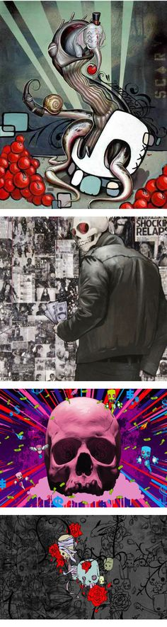 Mike Shinoda Artwork