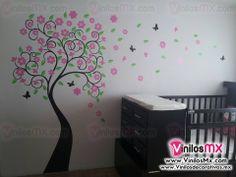 el arbol en pared