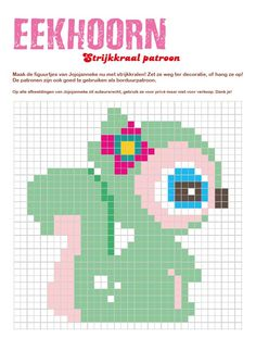Squirrel perler bead pattern by Jojojanneke