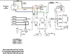 4 Post Solenoid Wiring Diagram 42a707 Yard Man Lawn Tractor ...  Post Solenoid Wiring Diagram A Yardman Lawn Tractor on