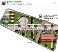 Municipality  Square/ Park Landscape Project / Çarşıbaşı Trabzon / By PTM Proje / www.ptmproje.com